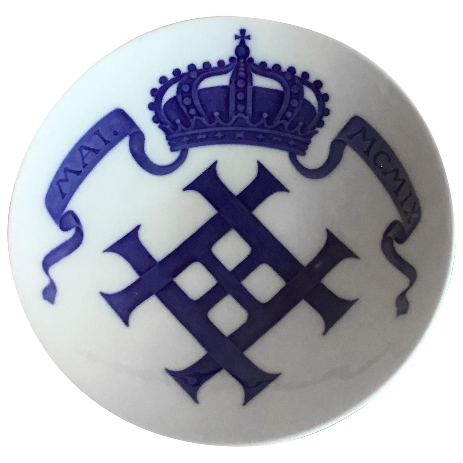 Royal Copenhagen Commemorative Plate from 1908 RC-CM97
