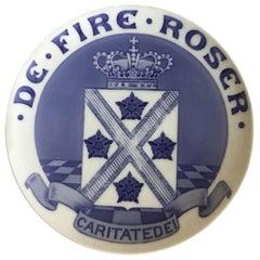 Royal Copenhagen Commemorative Plate from 1909 RC-CM100