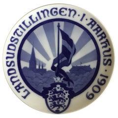 Royal Copenhagen Commemorative Plate from 1909 RC-CM89