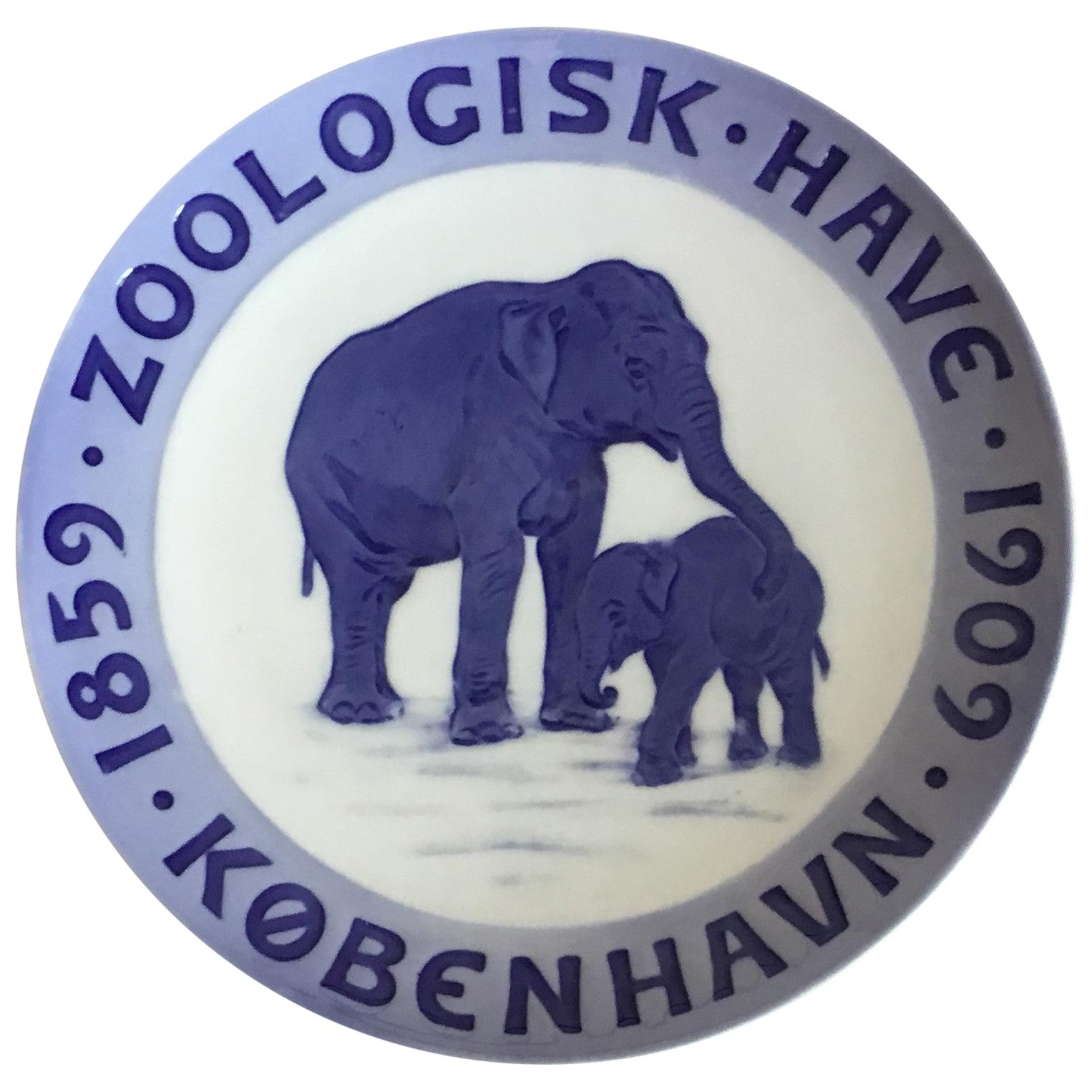 Royal Copenhagen Commemorative Plate from 1909 RC-CM92