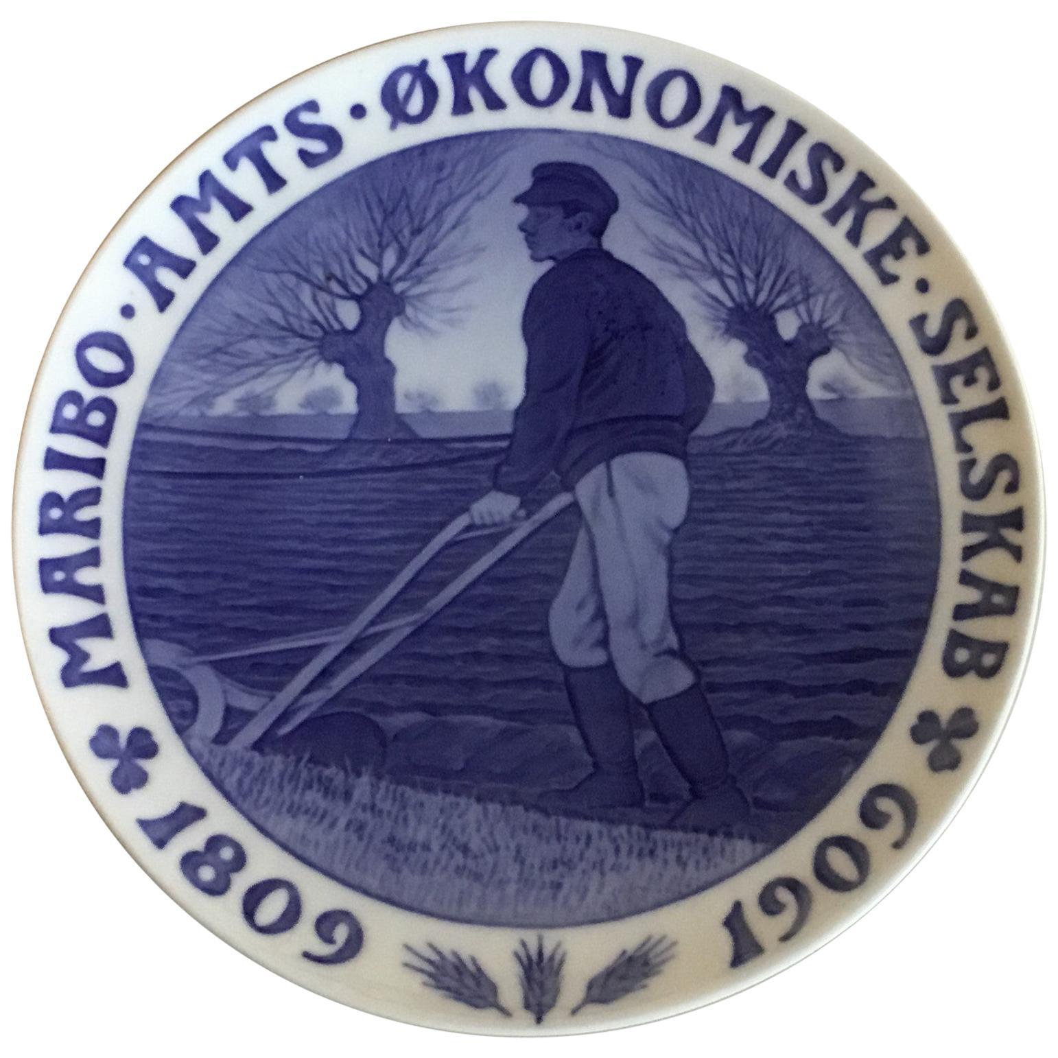 Royal Copenhagen Commemorative Plate from 1909 RC-CM93