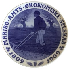 Royal Copenhagen Commemorative Plate from 1909 RC-CM93