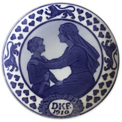 Royal Copenhagen Commemorative Plate from 1910 RC-CM109