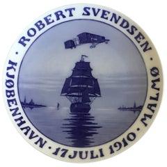 Royal Copenhagen Commemorative Plate from 1910 RC-CM110