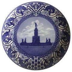 Royal Copenhagen Commemorative Plate from 1911 RC-CM121