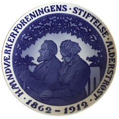Royal Copenhagen Commemorative Plate from 1912 RC-CM130