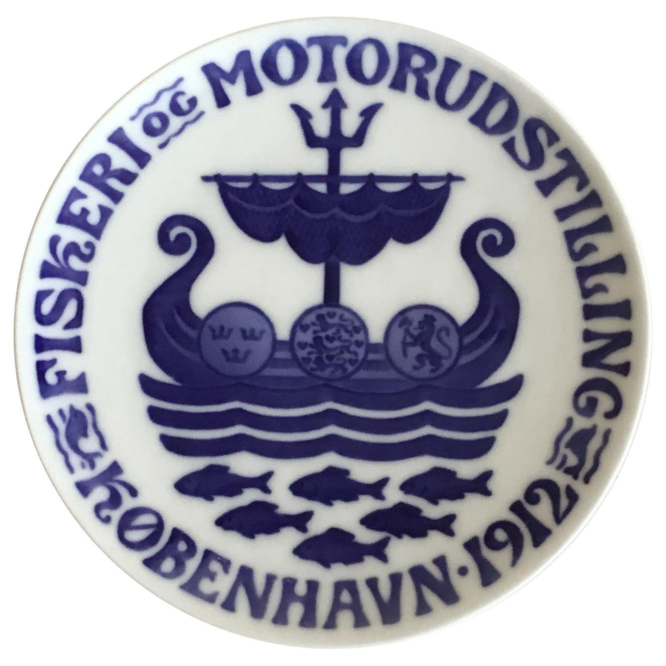 Royal Copenhagen Commemorative Plate from 1912 RC-CM134