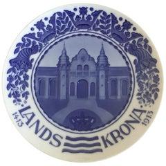 Royal Copenhagen Commemorative Plate from 1913 RC-CM146