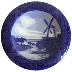 Royal Copenhagen Commemorative Plate from 1914 RC-CM148