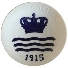 Royal Copenhagen Commemorative Plate from 1915 RC-CM155