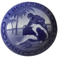 Royal Copenhagen Commemorative Plate from 1916 RC-CM165