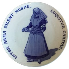 Royal Copenhagen Commemorative Plate from 1917 RC-CM167