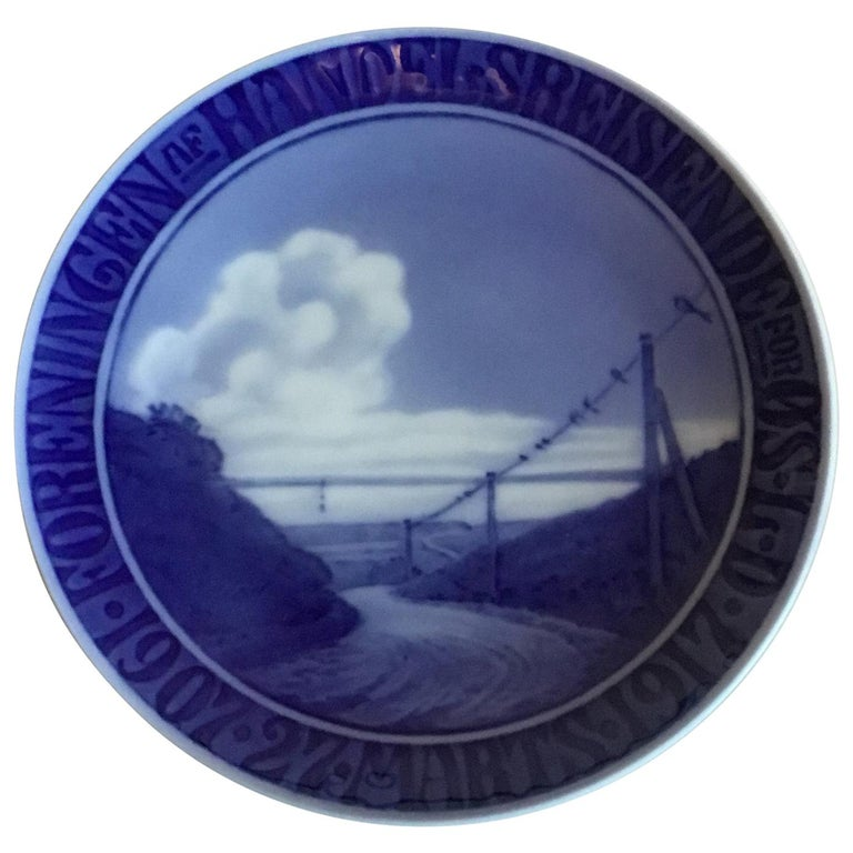 Royal Copenhagen Commemorative Plate from 1917 RC-CM169 For Sale