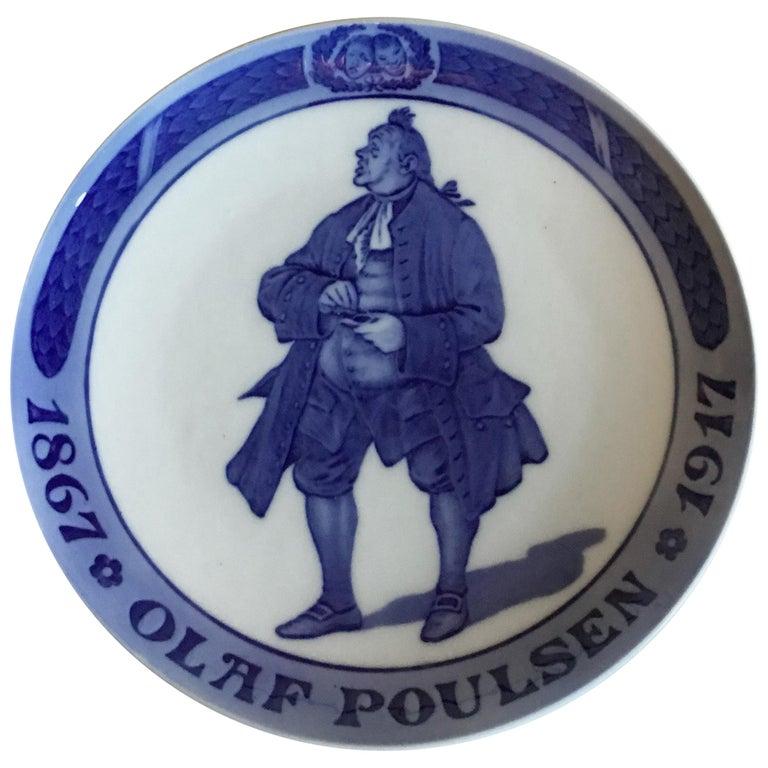 Royal Copenhagen Commemorative Plate from 1917  RC-CM170 For Sale