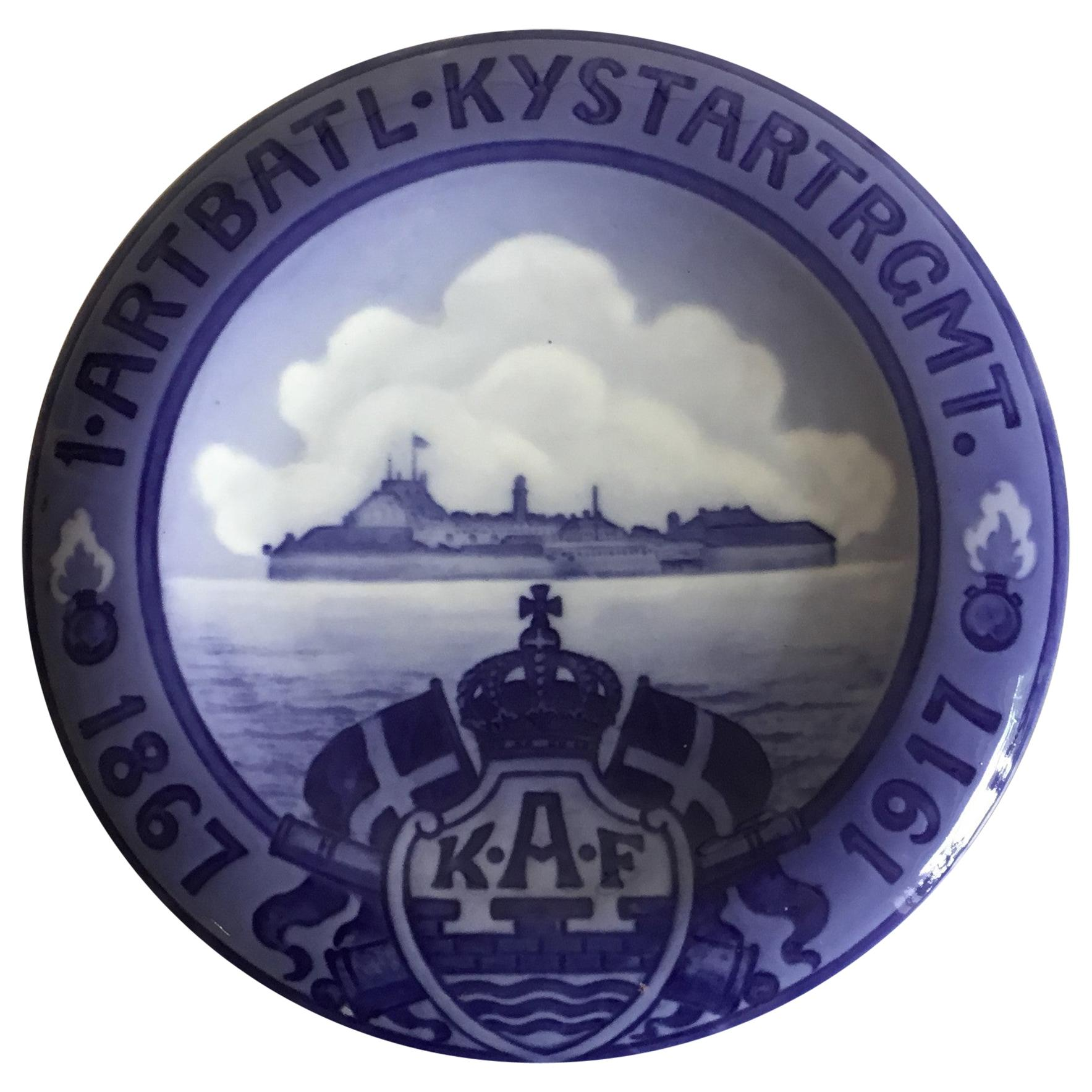 Royal Copenhagen Commemorative Plate from 1917 RC-CM171