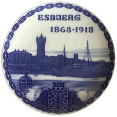 Royal Copenhagen Commemorative Plate from 1918 RC-CM173