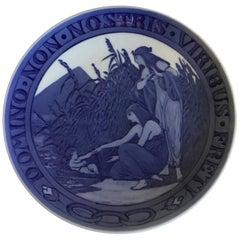 Royal Copenhagen Commemorative Plate from 1918 RC-CM182