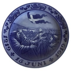 Royal Copenhagen Commemorative Plate from 1918 RC-CM183