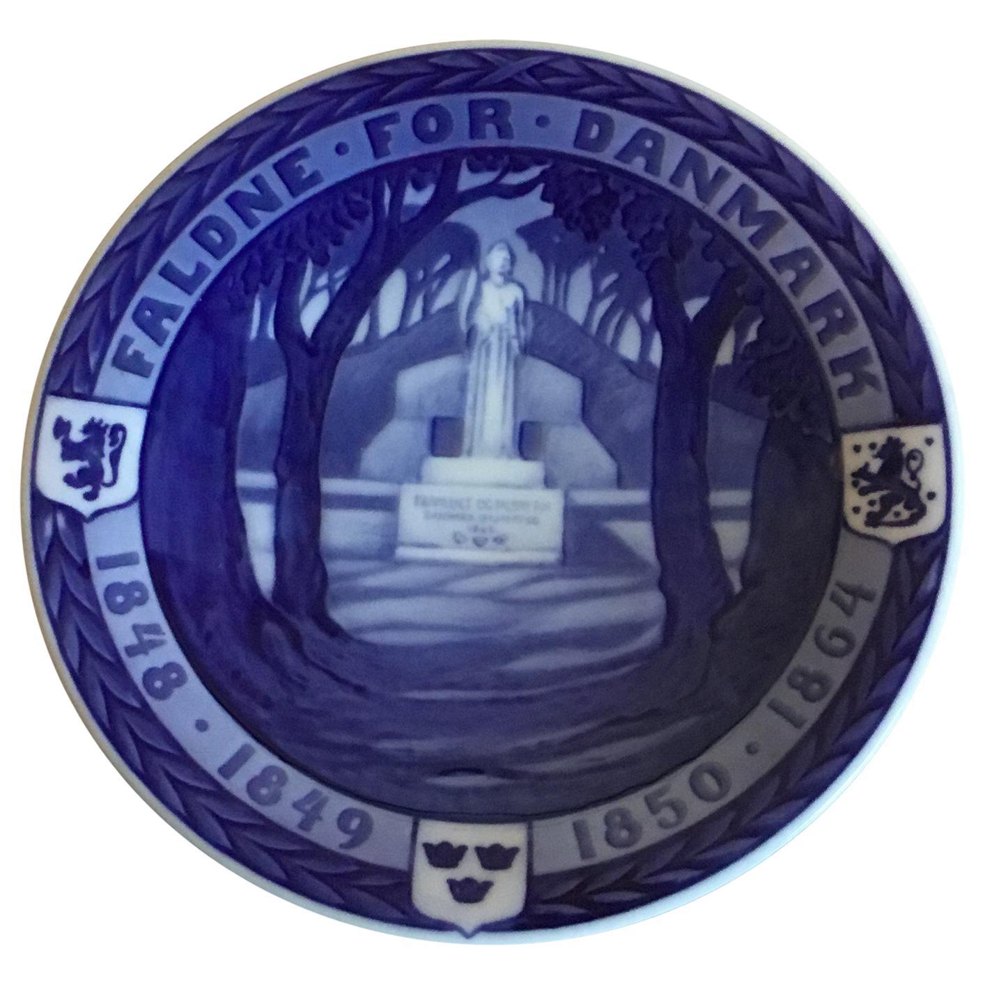 Royal Copenhagen Commemorative Plate from 1920 RC-CM192