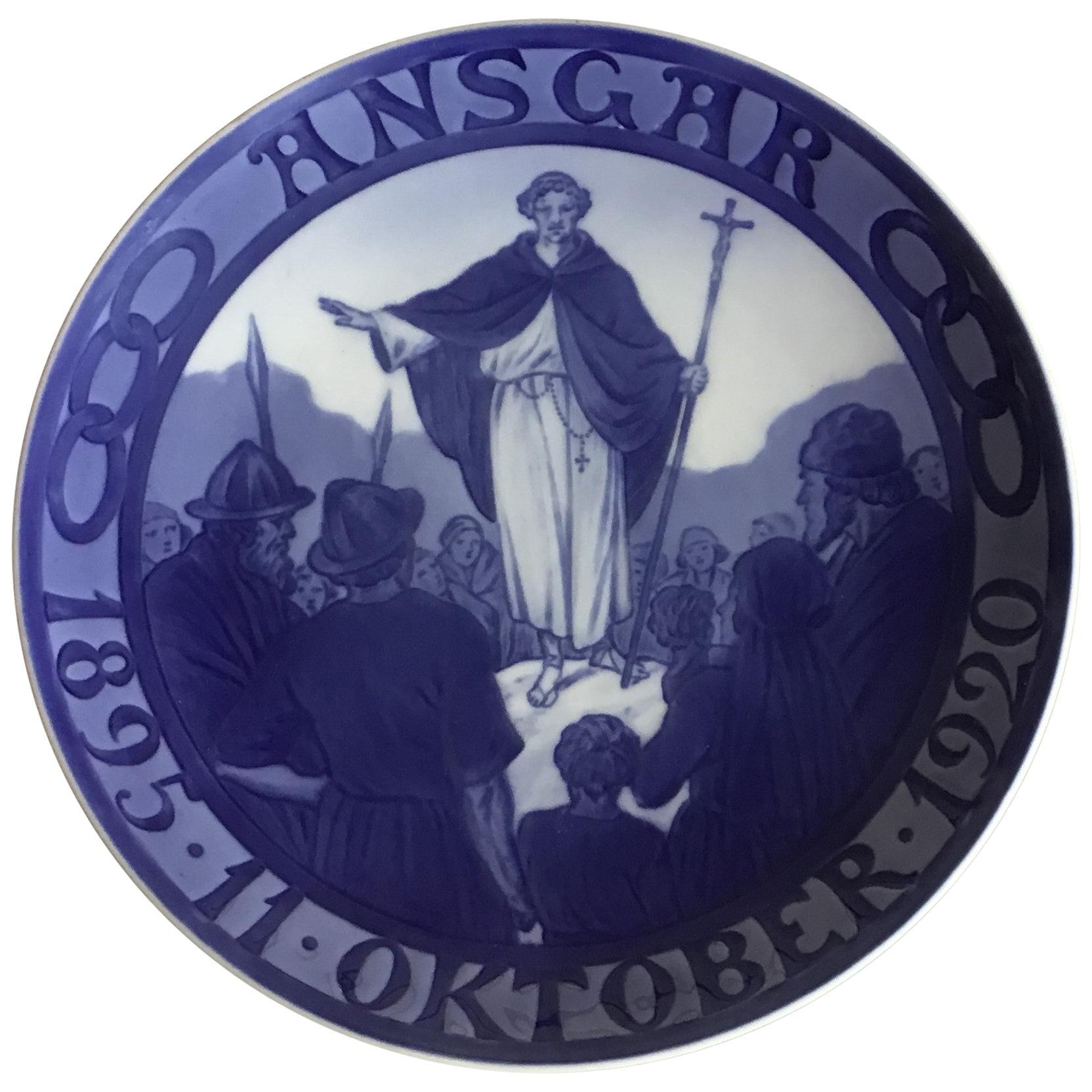 Royal Copenhagen Commemorative Plate from 1920 RC-CM194