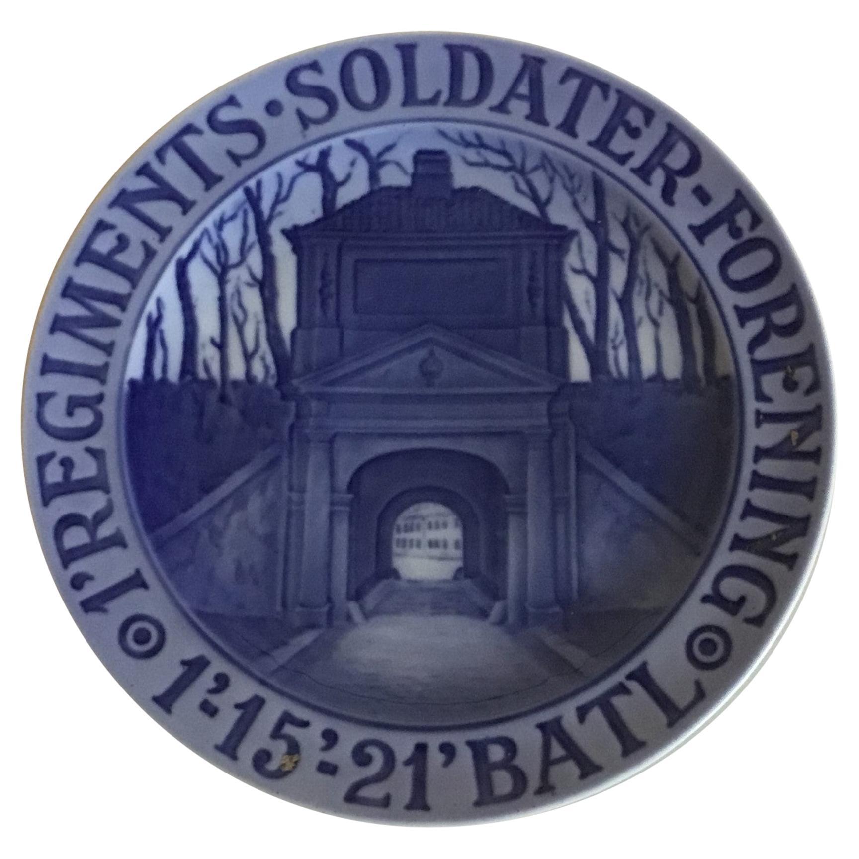 Royal Copenhagen Commemorative Plate from 1920 RC-CM196