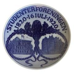 Royal Copenhagen Commemorative Plate from 1920 RC-CM197