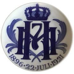 Royal Copenhagen Commemorative Plate from 1921 RC-CM199