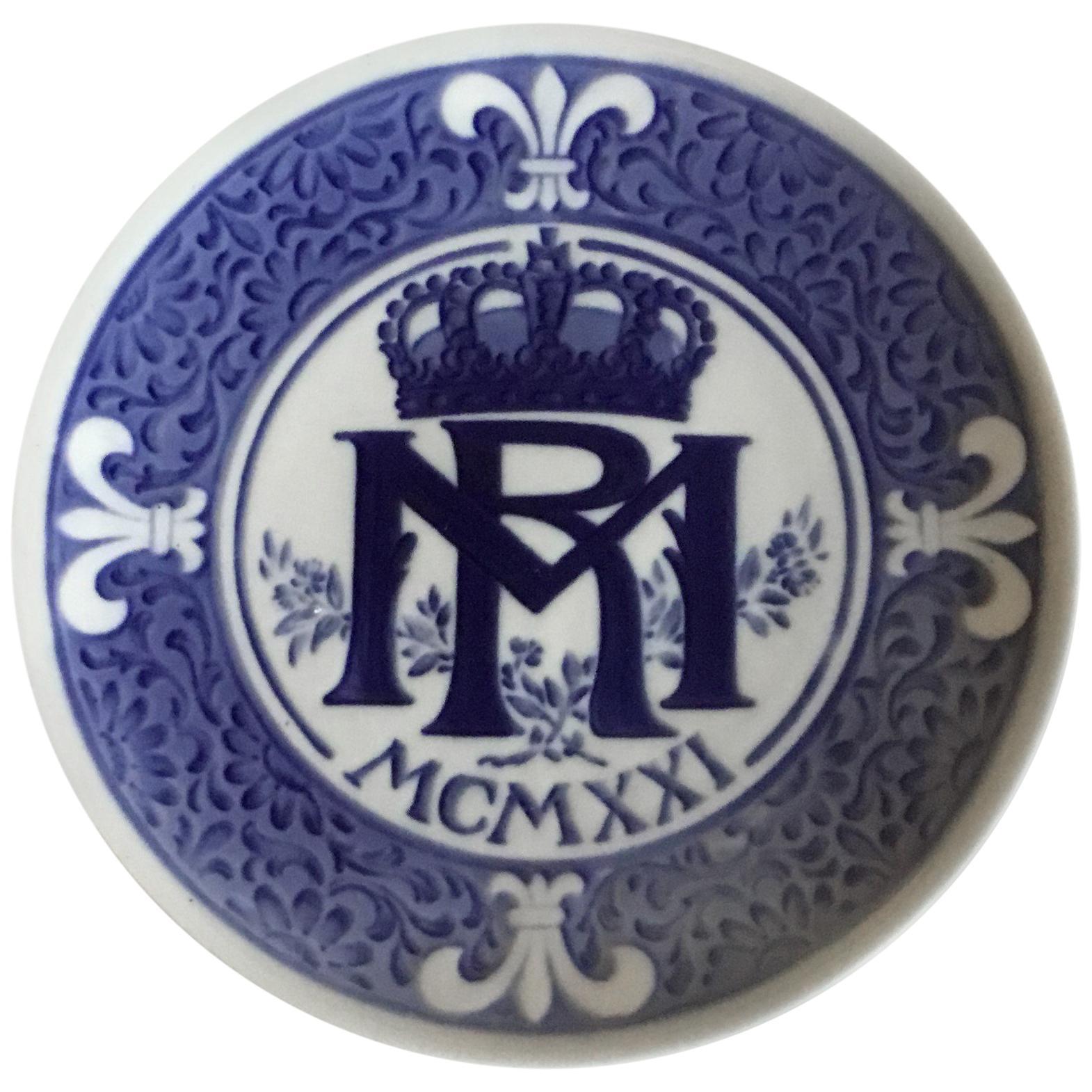 Royal Copenhagen Commemorative Plate from 1921 RC-CM200