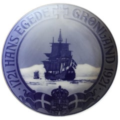 Royal Copenhagen Commemorative Plate from 1922 RC-CM208