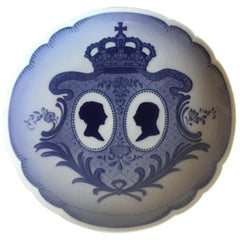 Royal Copenhagen Commemorative Plate from 1923 RC-CM216