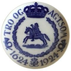 Royal Copenhagen Commemorative Plate from 1924 RC-CM230