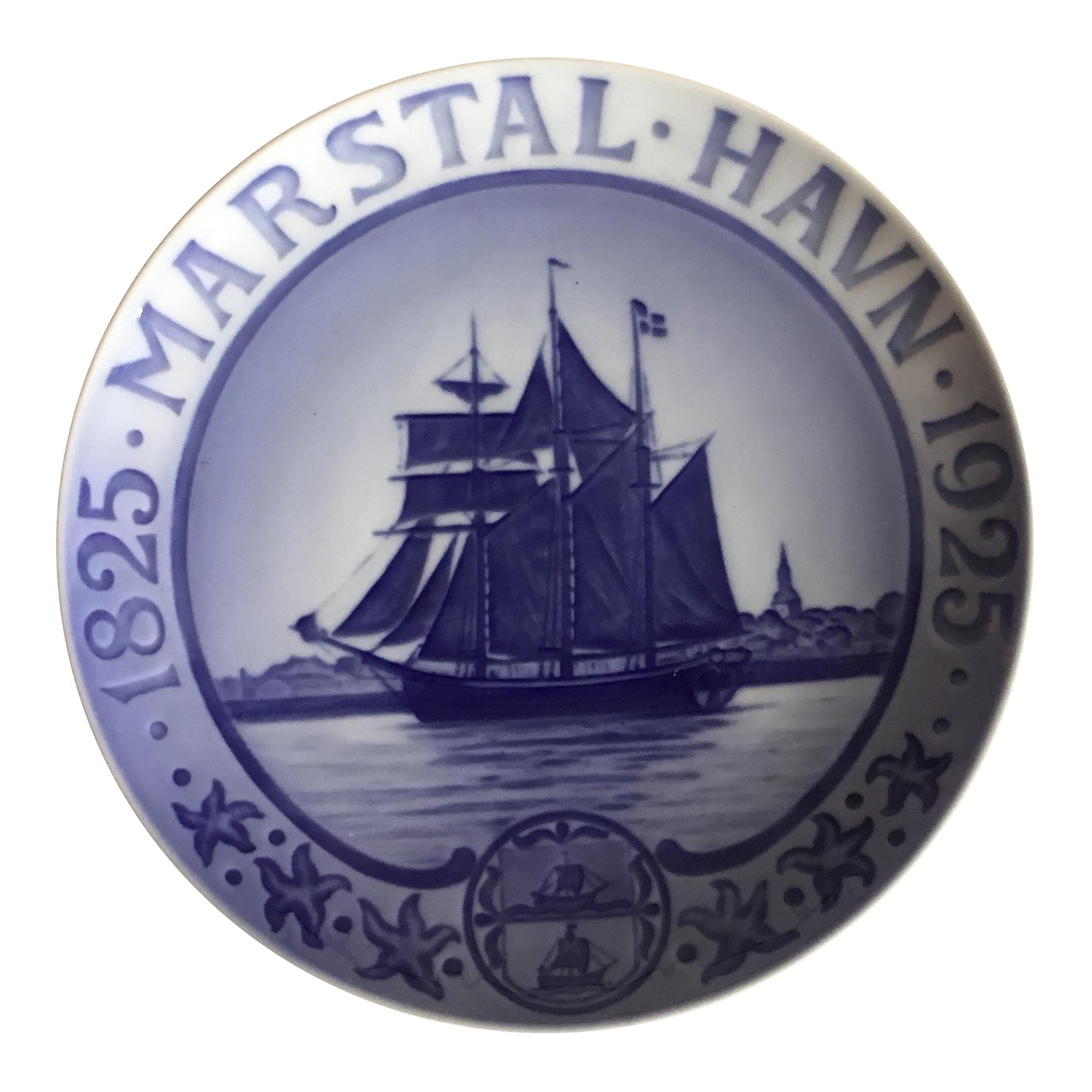 Royal Copenhagen Commemorative Plate from 1925 RC-CM235