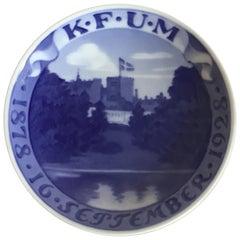 Royal Copenhagen Commemorative Plate from 1928 RC-CM254