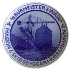 Royal Copenhagen Commemorative Plate from 1928 RC-CM255
