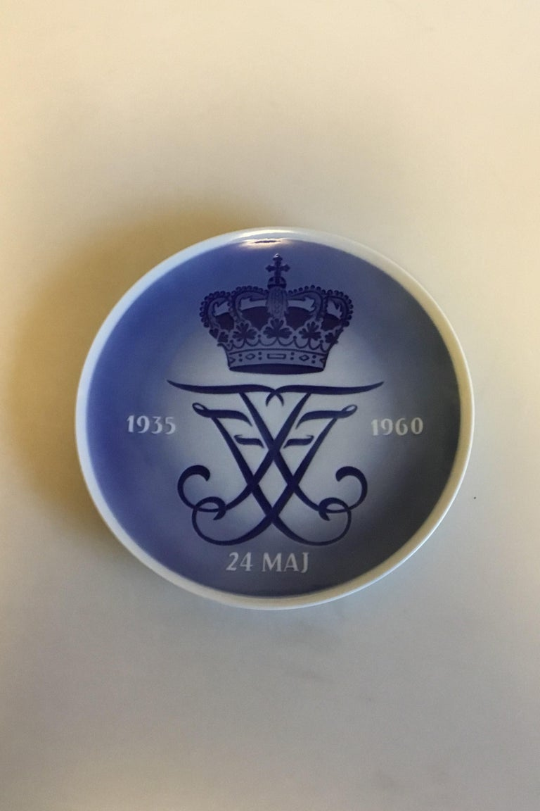 Art Nouveau Royal Copenhagen Commemorative Plate from 1960 RC-CM308 For Sale