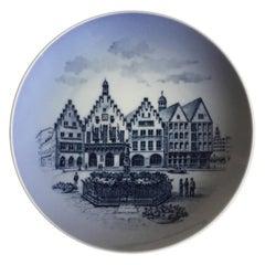 Royal Copenhagen Commemorative Plate from 1968 RC-CM320