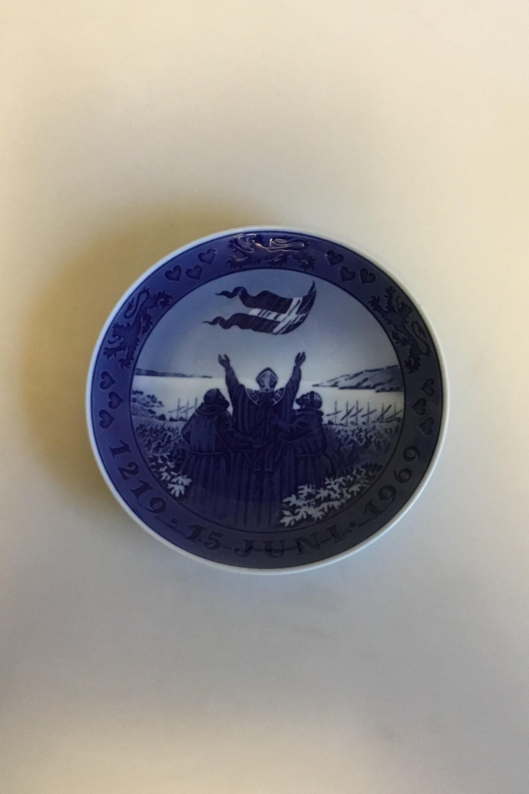 Art Nouveau Royal Copenhagen Commemorative Plate from 1969 RC-CM323 For Sale