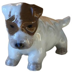 Royal Copenhagen Dog Figurine
