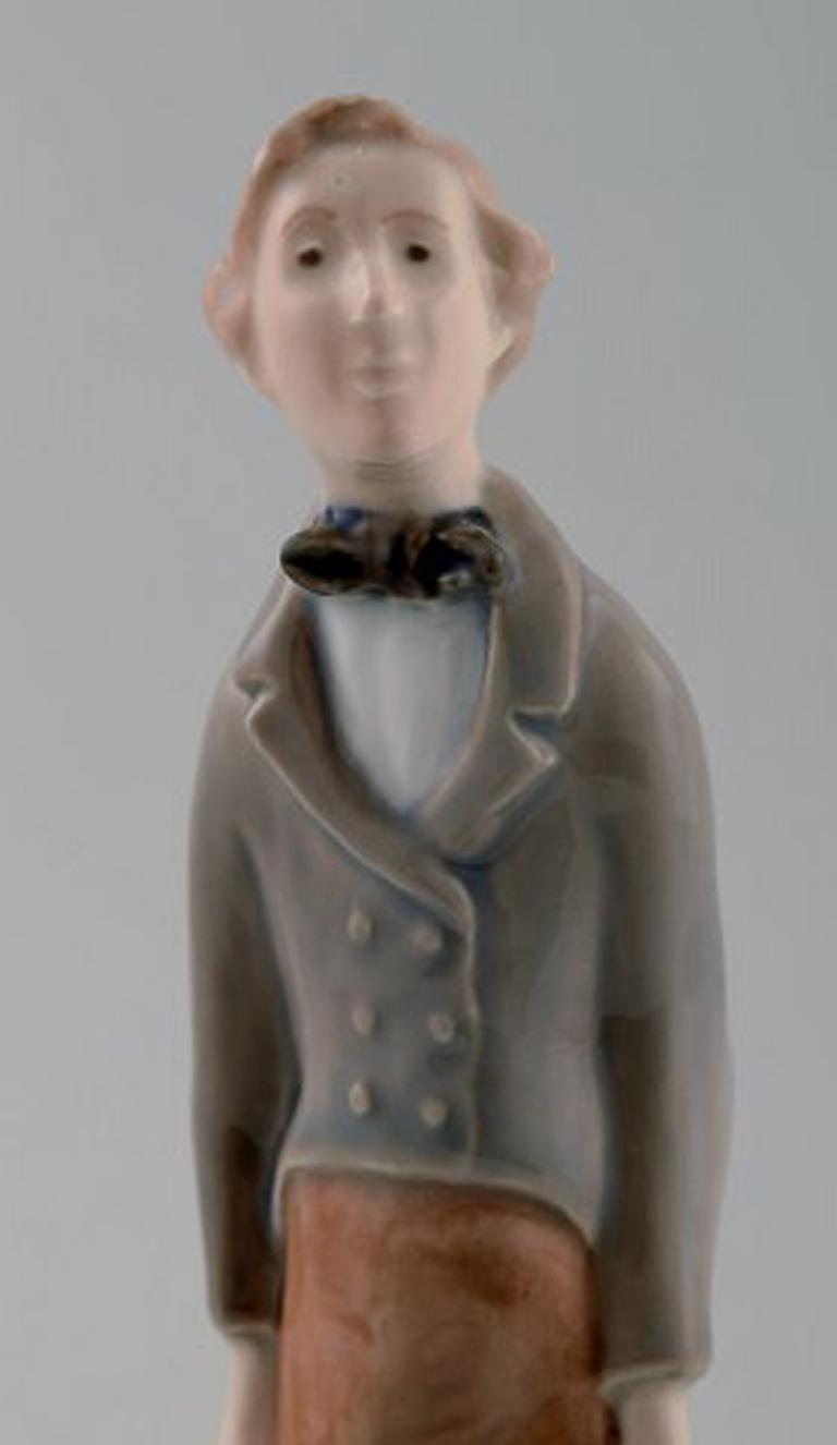 Danish Royal Copenhagen Figure H.C. Andersen For Sale