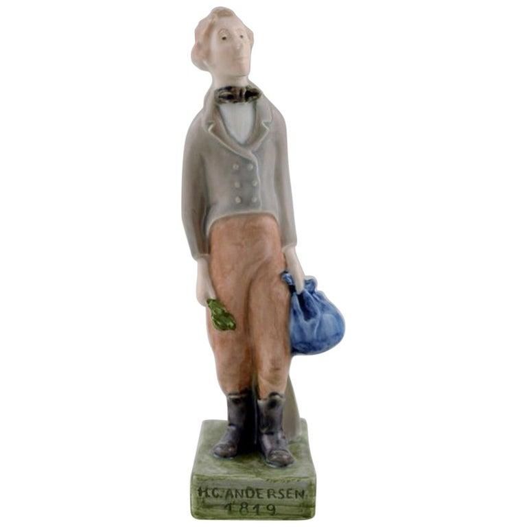 Royal Copenhagen Figure H.C. Andersen For Sale
