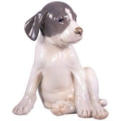 Royal Copenhagen Figure of a 'Pointer Puppy', Dated 1952