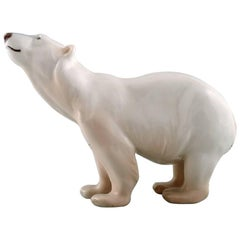 Royal Copenhagen Figurine 417 Polar Bear
