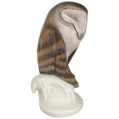 Royal Copenhagen Figurine of a Barn Owl circa 1969