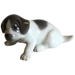 Royal Copenhagen Figurine of Pointer Puppy No 1311