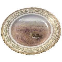 Royal Copenhagen Flora Danica Bird Plate #240A/3549