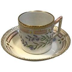 Royal Copenhagen Flora Danica Chocolate Cup No 20/3512