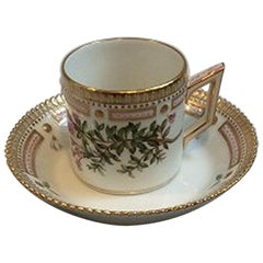 Royal Copenhagen Flora Danica Chocolate Cup no 3621 or 056