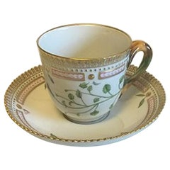 Royal Copenhagen Flora Danica Coffee Cup and Saucer No 20/3597