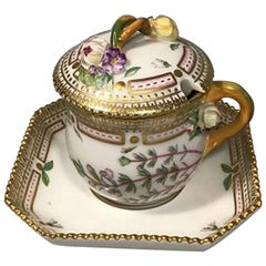 Royal Copenhagen Flora Danica Custard Cup No. 3514