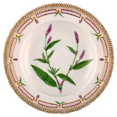 Royal Copenhagen Flora Danica Deep Plate Model Number 20/3546